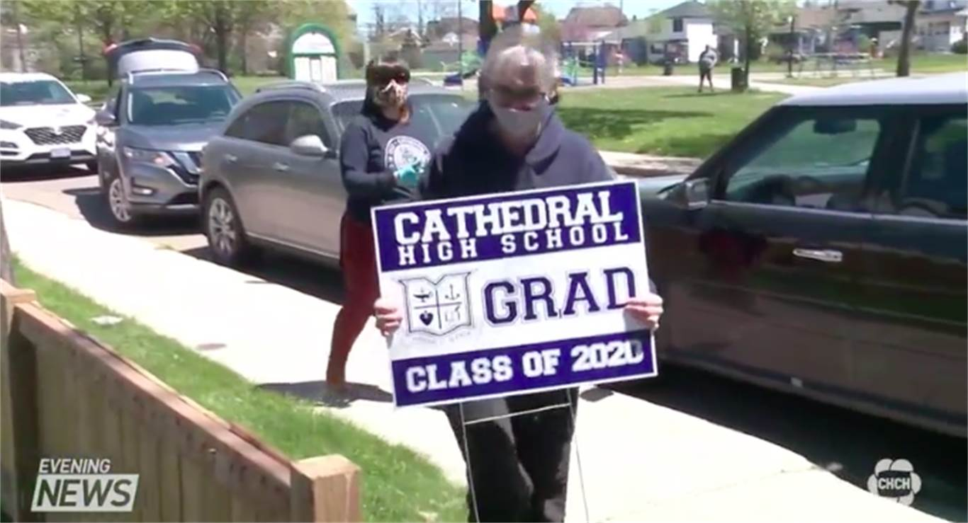 Cathedral High School plans a special surprise for graduates